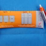 Paper Scroll Banner Pen