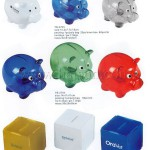Promotional Plastic Piggy Coin Bank, Custom Piggy Banks, Logo Promot
