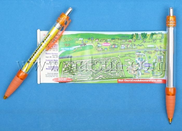 Scroll Map Pens