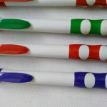 Dual Color Grip Ball Pens