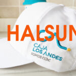 Thin Brushed White Summer Caps Embroidery Logo CAJA LOS ANDES SOMOS CChc BKBC-1